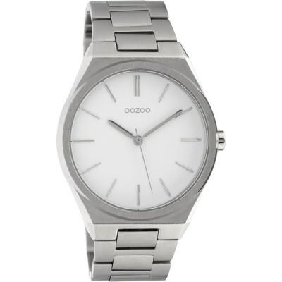 OOZOO Timepieces Silver Stainless Steel Bracelet C10335