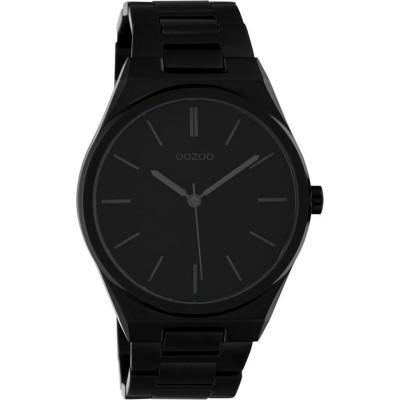 OOZOO Timepieces Black Stainless Steel Bracelet C10339