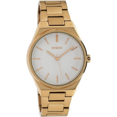 OOZOO Timepieces Rose Gold Stainless Steel Bracelet C10343