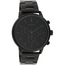OOZOO Timepieces Black Stainless Steel Bracelet C10549
