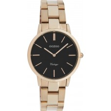 OOZOO Timepieces Rose Gold Stainless Steel Bracelet C20049