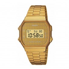 CASIO Gold Stainless Steel A-168WG-9BWEF