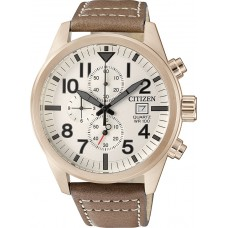 CITIZEN  Brown Leather Strap AN3623-02A