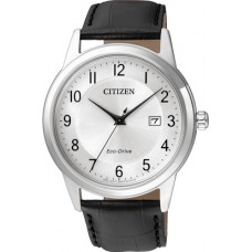 CITIZEN Eco-Drive Black Leather Strap  AW1231-07A