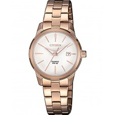 CITIZEN Classic Rose Gold Stainless Steel Bracelet EU6073-53A