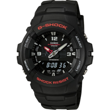 CASIO G-Shock Black Rubber Strap GA-140-1A1ER