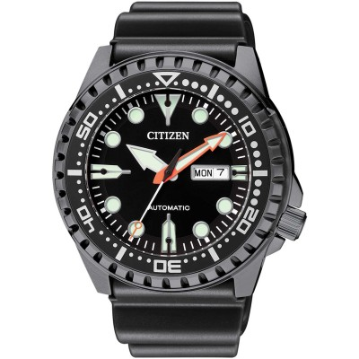CITIZEN Promaster Marine Automatic Black Rubber Strap NH8385-11EE
