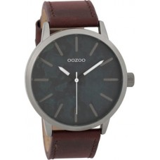 OOZOO Timepieces  Brown Leather Strap