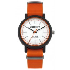 SUPERDRY Campus Orange Rubber Strap