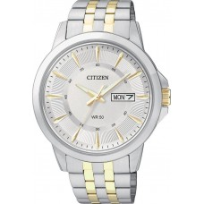 CITIZEN Two Tone Stainless Steel Bracelet BF2018-52A