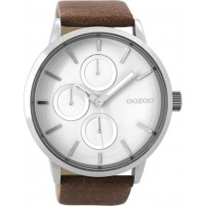 OOZOO  Brown Leather Strap