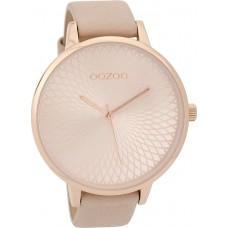 OOZOO  Timepieces  Ladies Greygreen Leather Strap