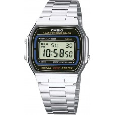 Casio A-164WA-1VES Vintage Digital Stainless Steel Watch