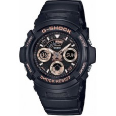 CASIO G-Shock Black Rubber Strap AW-591GBX-1A4ER