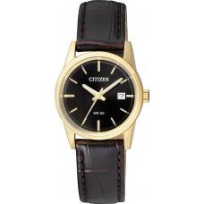 Citizen Classic Black Leather Strap EU6002-01E