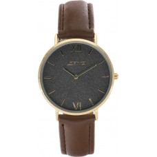 LOFTYS Vintage Gold Brown Leather Strap Y3406-65