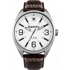 Superdry Military Brown Leather Strap SYG199TS