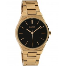 OOZOO Timepieces Rose Gold Stainless Steel Bracelet C10344