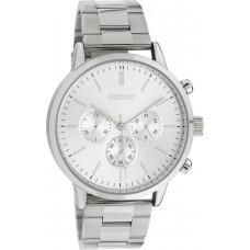 OOZOO Timepieces Silver Stainless Steel Bracelet C10545