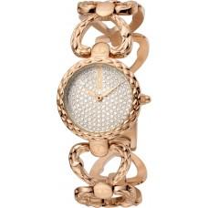 Just Cavalli Animalier Ladies Watch Rose Gold Stainless Steel Bracelet JC1L132M0085