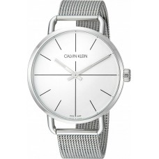 Calvin Klein Womens Even Silver Mesh Bracelet K7B21126