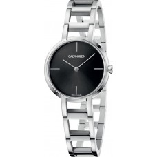 Calvin Klein Womens Cheers Silver Stainless Steel Bracelet K8N23141