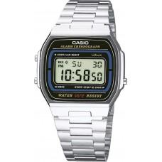 Casio A-164WA-1VES Vintage Digital Stainless Steel Watch