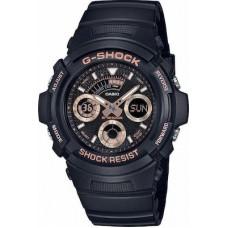 CASIO G-Shock Black Rubber Strap AW-591GBX-1A4ER