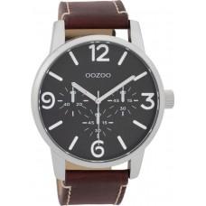 OOZOO   C9652 Brown Leather Strap