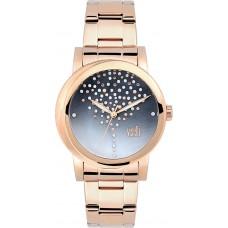 Visetti Brilliant Rose Gold Stainless Steel Bracelet ZE991ST